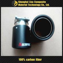 factory price universal carbon fiber exhaust pipe car pipe of carbon fiber exhaust pipe