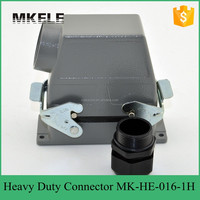 Used in outdoor high voltage circuit breaker heavy duty multi pin quick connectors get covered to measure high cover