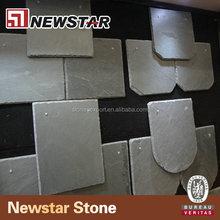 Square grey colour roof slate tile