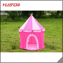HOTsales princess and prince style Fashion kid children wonderful castle tents