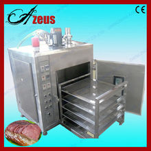 Small volume stainless steel meat smoker oven