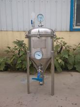 Single wall best polishing beer fermentation tank SUS 304 home fermentation tank