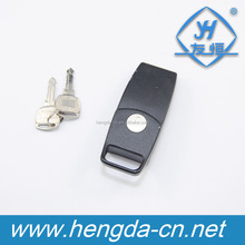YH9000 black or chrome Steel furniture corrosion-resisting zinc alloy hasp for cabinet