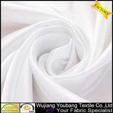 la fabricación de alta calidad bragas de raso blanco de tela