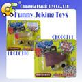 Tpr que bromean juguetes de plástico juguetes pegajosos prank juguetes dedo pegajoso y los ojos