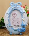 3d mini oso de sexo de resina foto de bebé marco de bithday de regalo