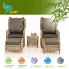 High Quality Leisure Sofa sets New Design Fashion Garden Treasures PE Wicker Patio Furniture