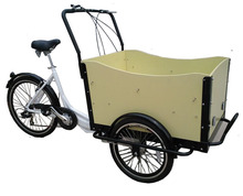 New ice cream Electric cargo trike with cover