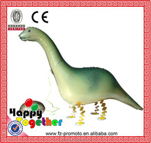 HAPPY TOGETHER Craft Factory Wholesale 10pcs/lot New Hot Sell Cute Inflatable Gray Dinosaur Foil Balloon