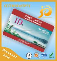 Customized printing office staff id card design sample