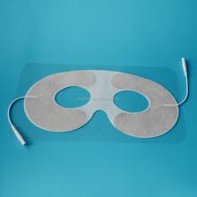 Non-woven adhesive gel conductive eye electrode pad for eye anti- dark circle