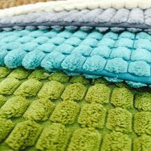 100% polyester flocking stripe velvet fabric upholstery fabric for sofa /curtain