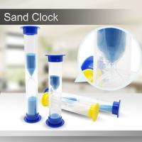 logo printed plastic sand timer hourglass