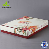 Wholesale Corrugated Cardboard Box Cake Boxes with Plastic Insert