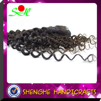SH Cheap 100g/piece double weft wholesale high quality brazilian human hair afro kinky curly human hair weave