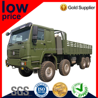 Special Price 371HP HOWO 8*8 CARGO TRUCK