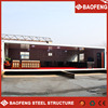 flexible layout 40ft container house shop