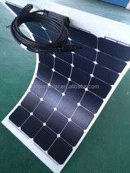 100W fexiable solar panel with sunpower celss