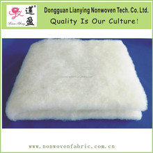 High CLO value polyester wadding for garment