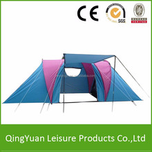 The newest 2 bedrooms double layers family tent/camping tents big family