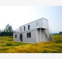 Convenient Structure Prefabricated 3 living shipping container house for sale