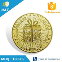 Cheap high quality custom old gold coin