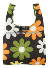2015 Hot Sale Fashion Printed Foldable Shopping Bag