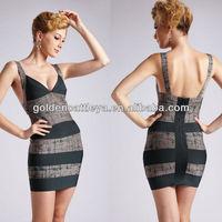 GDK0054 noble spaghetti strap tight cocktail dresses online