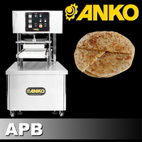 Anko Indian Sweet Flatbread Snack Food Puran Poli Machine