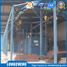 Best Price Hanger Shot Blasting Machine with Continuous Chain