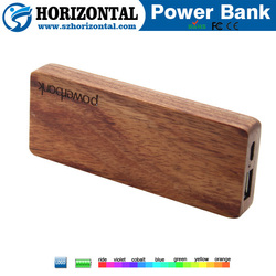 2015 Best Promotional Gifts Nature wood power bank for smart phone Environmental power bank ,5000mah power bank carved available