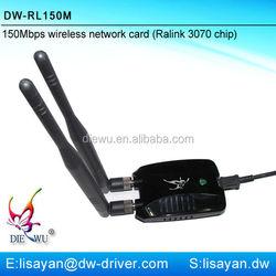 Driver free 150M high power wireless usb network adapter
