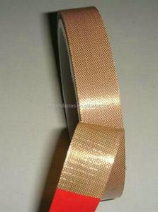 China novo produto inovador Teflon revestido de tecido de fibra de vidro fitas adesivas