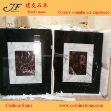 natural stone china red marble with water jet marble tiles