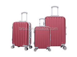 New design hot sale ABS luggage set trolley luggage for travel and business