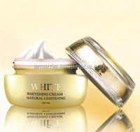 Brand name 100% Natural 50g skin face cream for whitening&lightening skin light cream