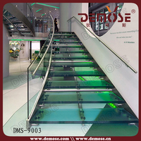 China best quality laminate glass stairs/stair casings