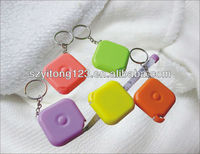 1.5 metre square colorful plastic tape measure for clothes B-0005