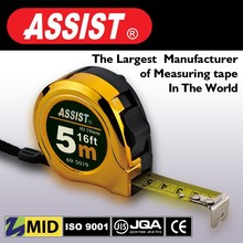 New abs casing of professional 5m spring for measuring tape