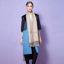 patchwork deri toptan 2015 avrupa şık sıcak Kaşmir Kore moda palto moda pregant kadın