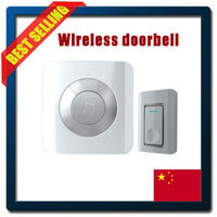 4 levels volume adjustable intelligent wireless doorbell with 52 melodies and 300M transmission distance
