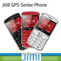 JIMI Hottest big button senior mobile phone with free Android & IOS tracking platform Ji08