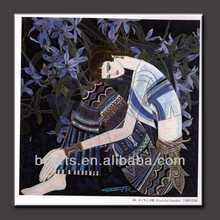 Home decor paintings for sale Indian beautiful woman painting high quality