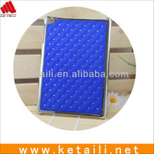 2013 Luxury Glittering Diamond Plating Cover Plastic Protective Case for Apple iPad