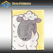 High Quality Sheep Print Image On Canvas