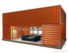 NEW style prefab wooden modern house