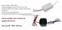 dimmable outdoor waterproof led driver 12V 24v for led strips, for led lights