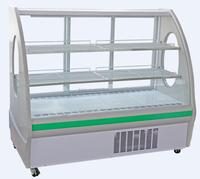 commercial glass chiller for meat/deli