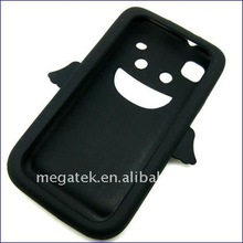 Mobile phone cover phone accessories Soft Rubber silicone angel Case cover for Galaxy S2 i9100