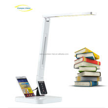USB port design and dimmable LED table lamp for home and office use with Samsung socket